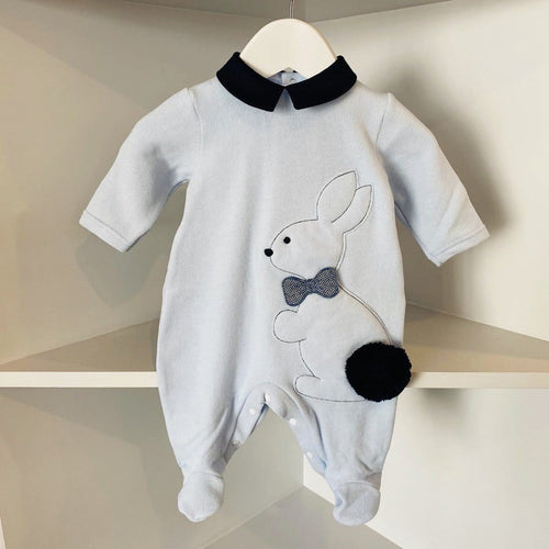 BARCELLINO BOYS RABBIT BABYGROW