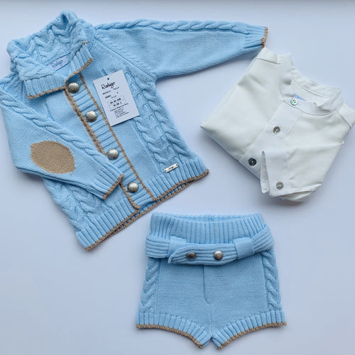 RAHIGO HARRY BABY  BLUE THREE PIECE SET