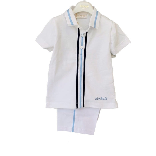 BIMBALO Smart Polo & Short Set