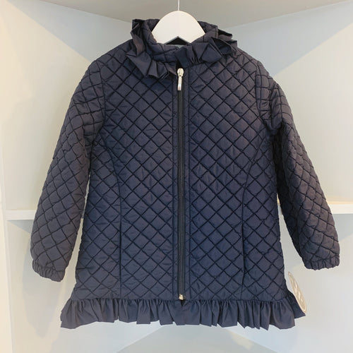 NINI SISTER BRAND LIGHTLY PADDED  JACKET NAVY