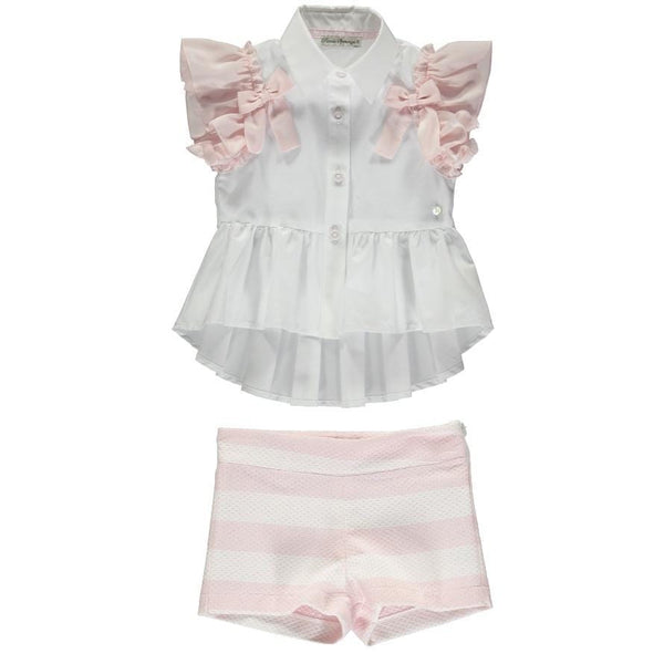 Piccola Speranza  - Blouse Set  - Pink