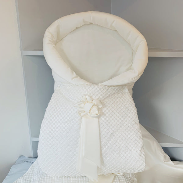 SOFIJA SATIN CREAM BABY NEST