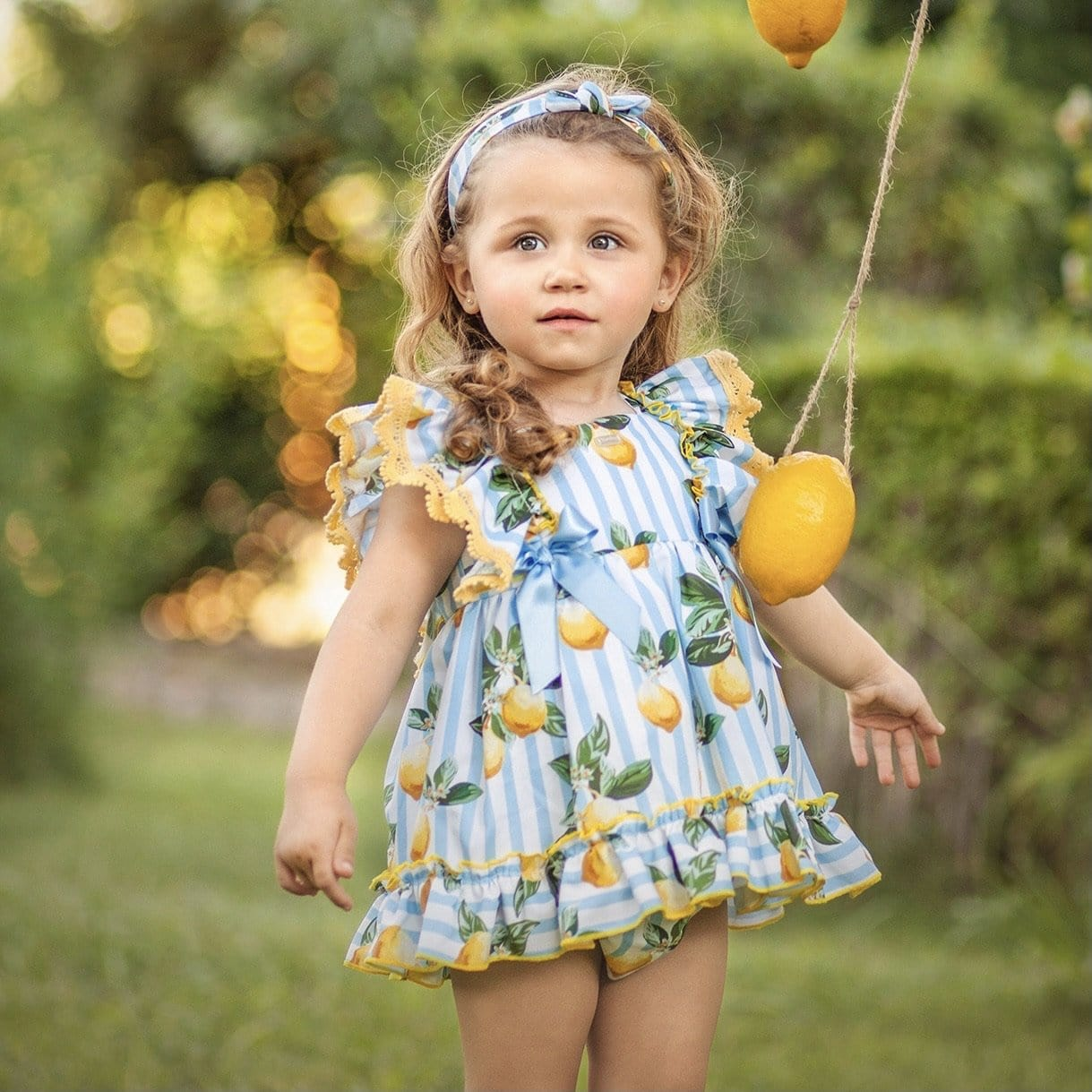 PRE ORDER DIVERDRESS LIMONCELLO BABY DRESS