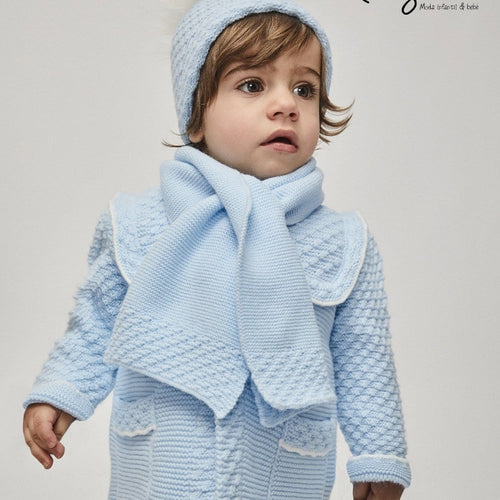 RAHIGO HARRISON BABY BLUE LUXURY SIX PIECE SET