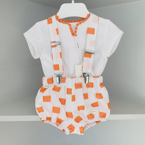 COCOTE ORANGE SQUARE BOYS SET