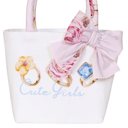 PRE ORDER BALLOON CHIC CUTE GIRLS PINK HAND BAG