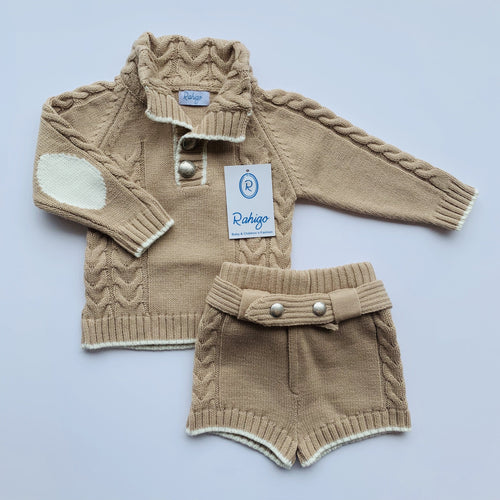 RAHIGO  ARTHUR CAMEL TWO PIECE SET