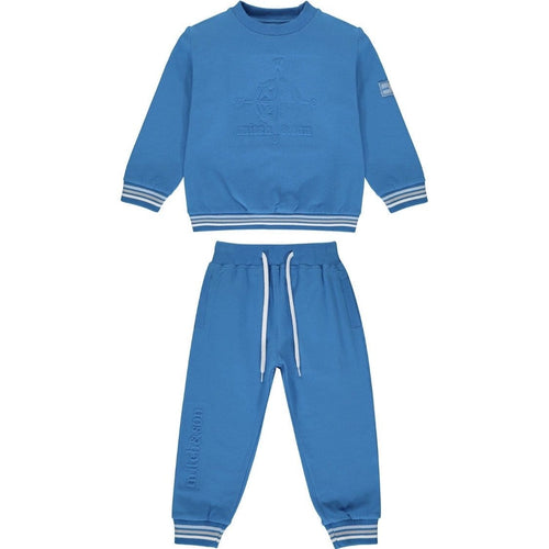 PRE ORDER MITCH & SON COMPASS BRILLIANT BLUE TRACKSUIT MS1435 MAX