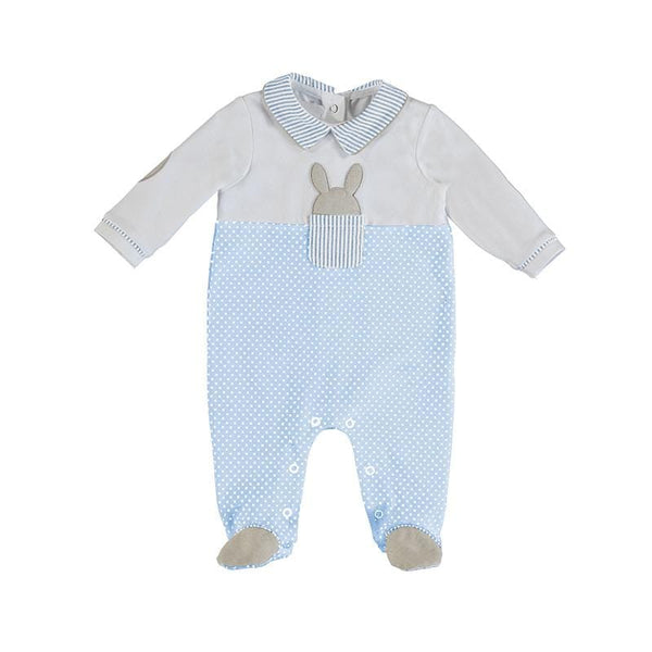 MAYORAL - Rabbit Onesie - Blue