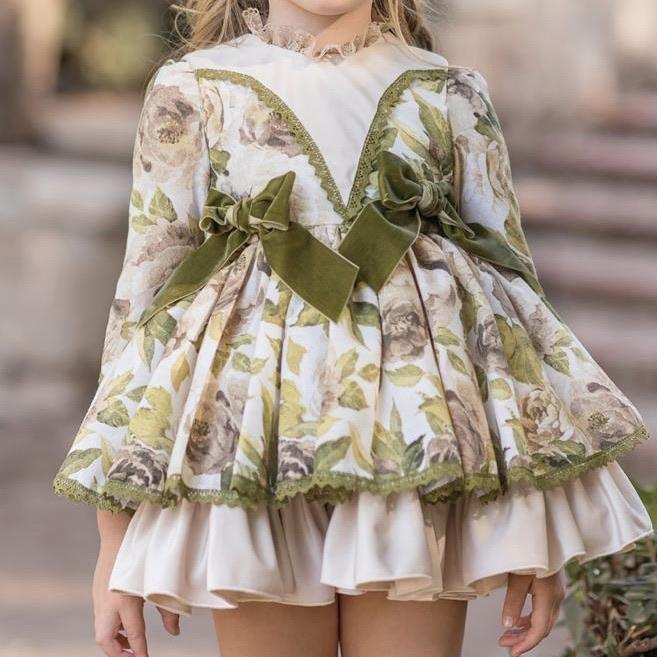 DUERME SAFILLA OLIVIA PUFFBALL DRESS