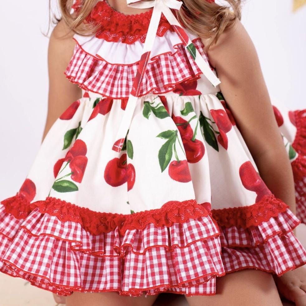 PRE ORDER NINI CHERRY BABY DRESS