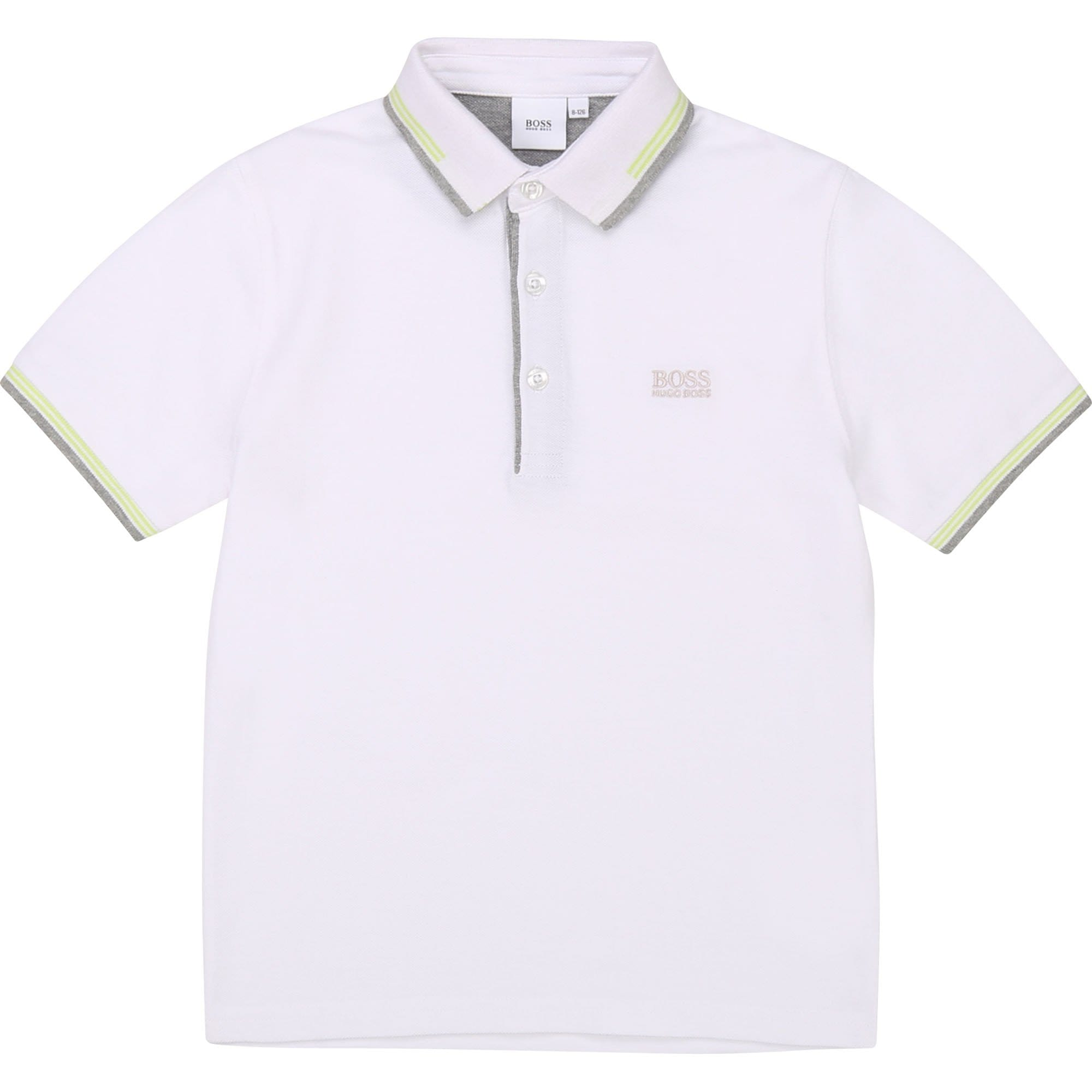 Hugo Boss - Polo Top - White