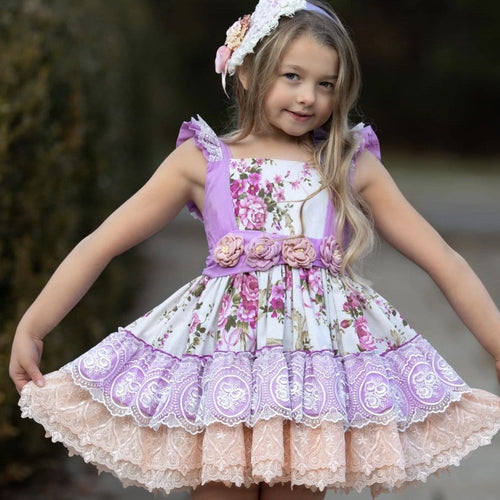 LA PRINCESITA LAVENDER DRESS