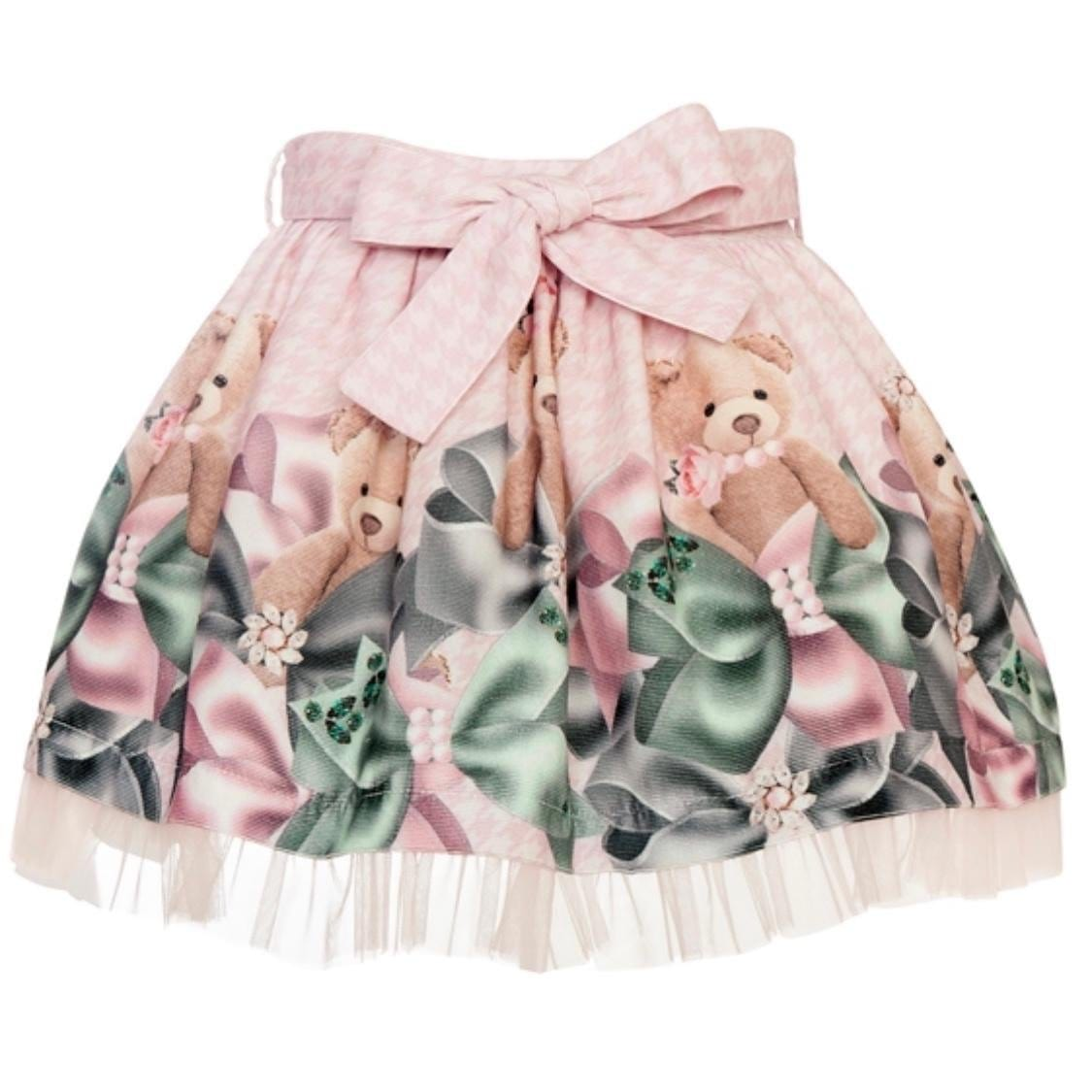 BALLOON CHIC TEDDY TIE SKIRT SET