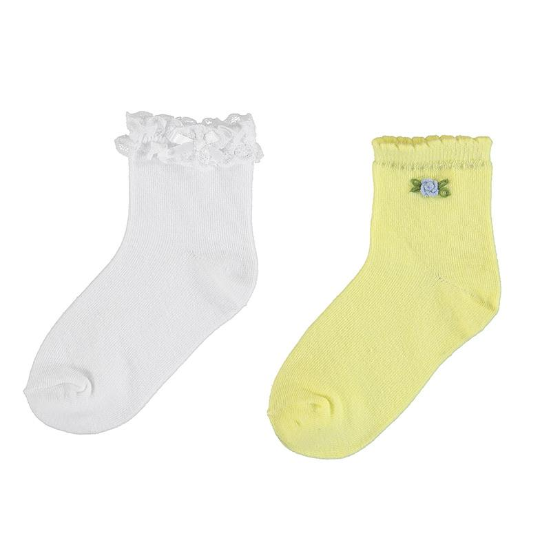 MAYORAL - Rose Sock Set - Yellow