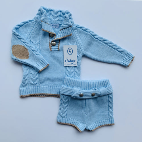 RAHIGO  ARTHUR BABY BLUE TWO PIECE SET