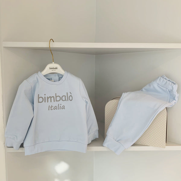 BIMBALO BABY BLUE BOYS TWO PIECE SET