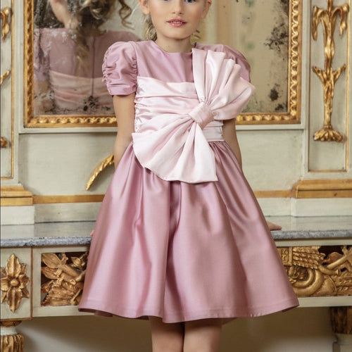 PATACHOU COUTURE  PINK BOW DRESS
