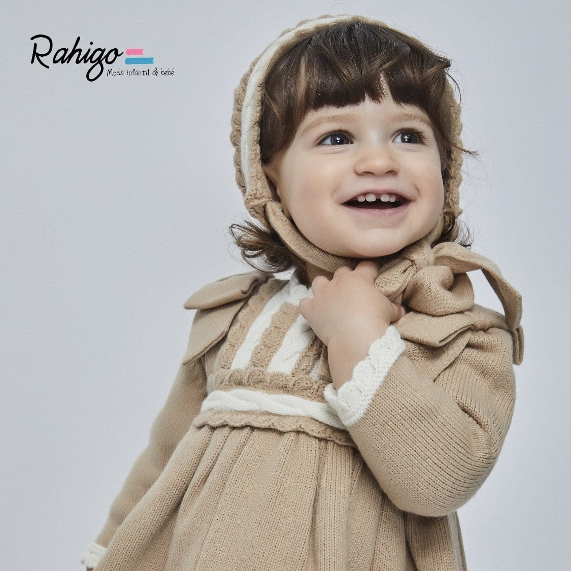 RAHIGO NANCY  DRESS & BONNET
