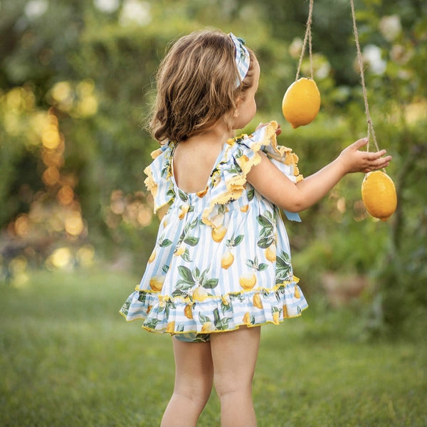 DIVERDRESS - Limoncello Baby Dress