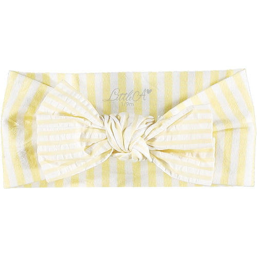 LITTLE A STRIPE PRINT HEADBAND
