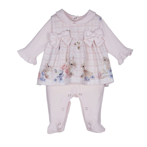 LAPIN HOUSE RABBIT TOP & BABYGROW SET