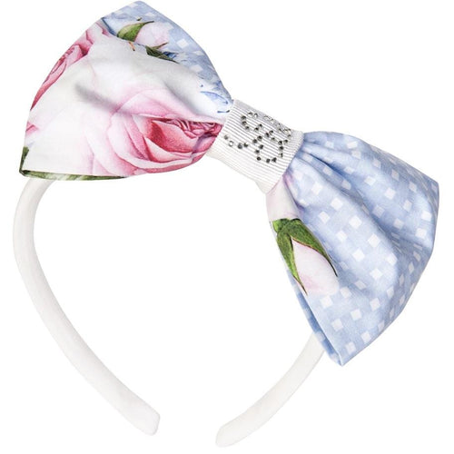 BALLOON CHIC - Rose Hairband - Blue