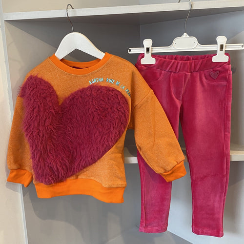 AGATHA RUIZ DE LA PRADA FLUFFY JUMPER AND JEGGING SET
