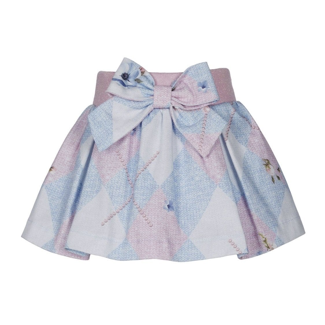 LAPIN HOUSE DIAMOND SKIRT SET