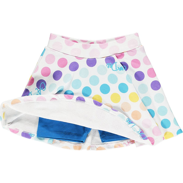 A DEE - Polka Dot Skort Set
