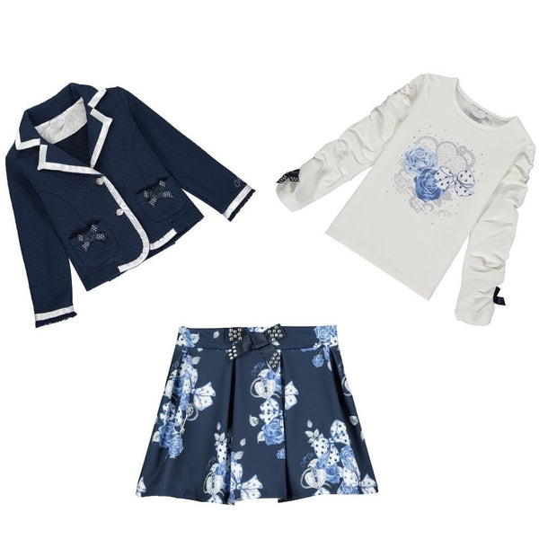 A Dee - Two Piece Set - Navy