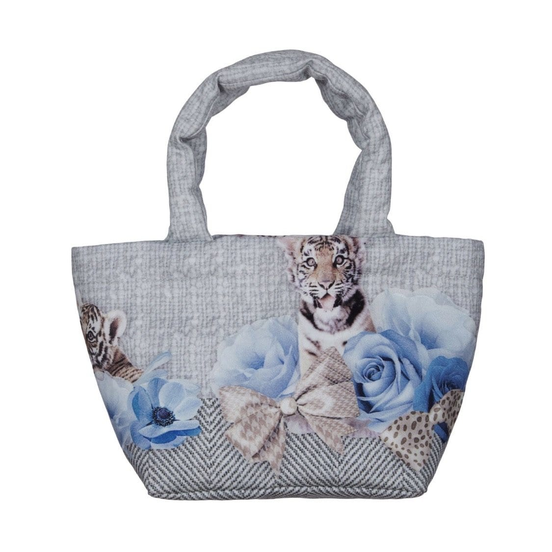 PRE ORDER LAPIN HOUSE BLUE ROSE LEOPARD BAG