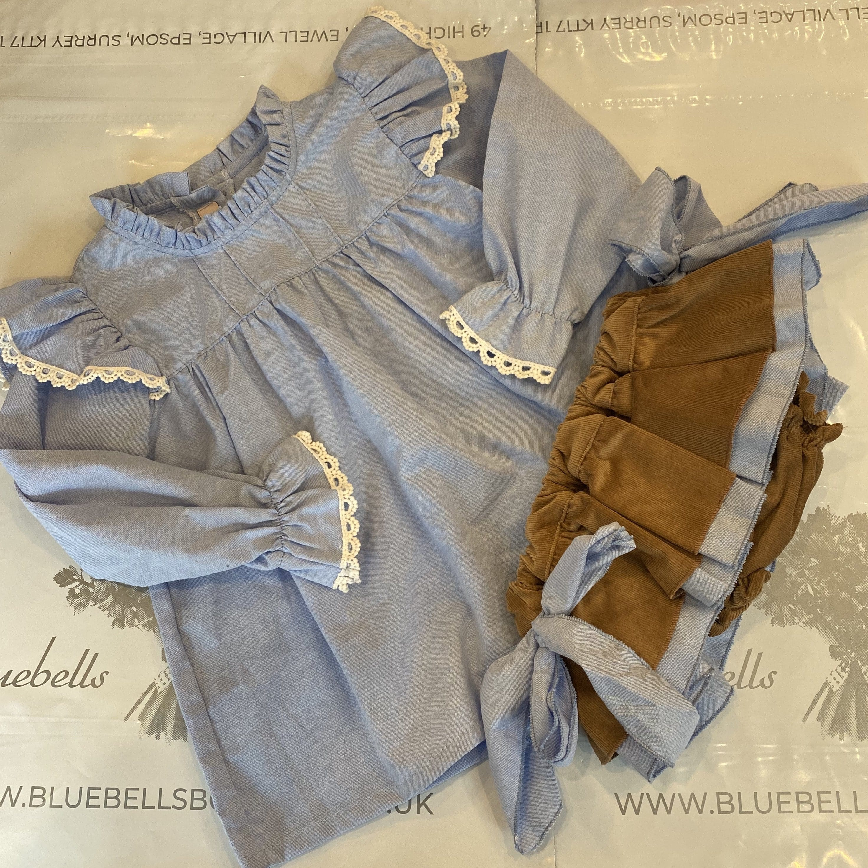 BLOUSE & JAM PANT SET