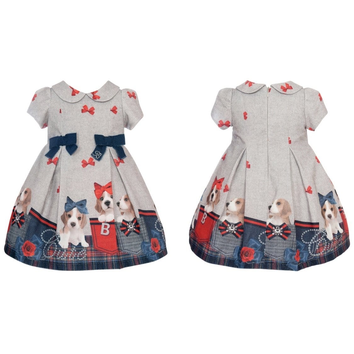 PRE ORDER BALLOON CHIC DOGGY BOW DRESS