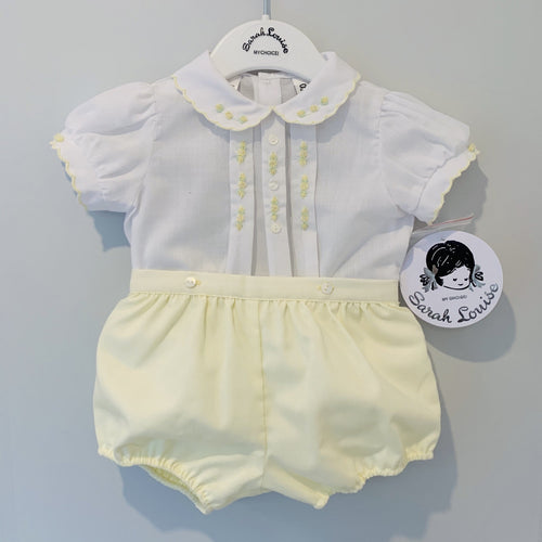 SARAH LOUISE LEMON JAM PANT SET