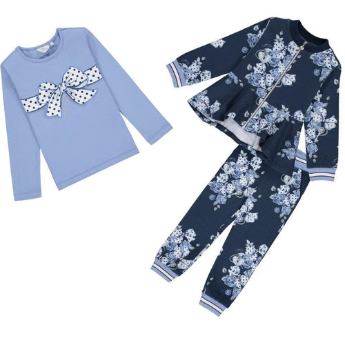 A DEE BOWS & ROSES TRACKSUIT WITH BOW TOP W204518 HARMONIE