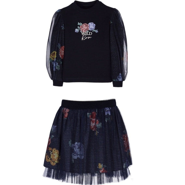 LAPIN HOUSE WILD ROSE SKIRT SET