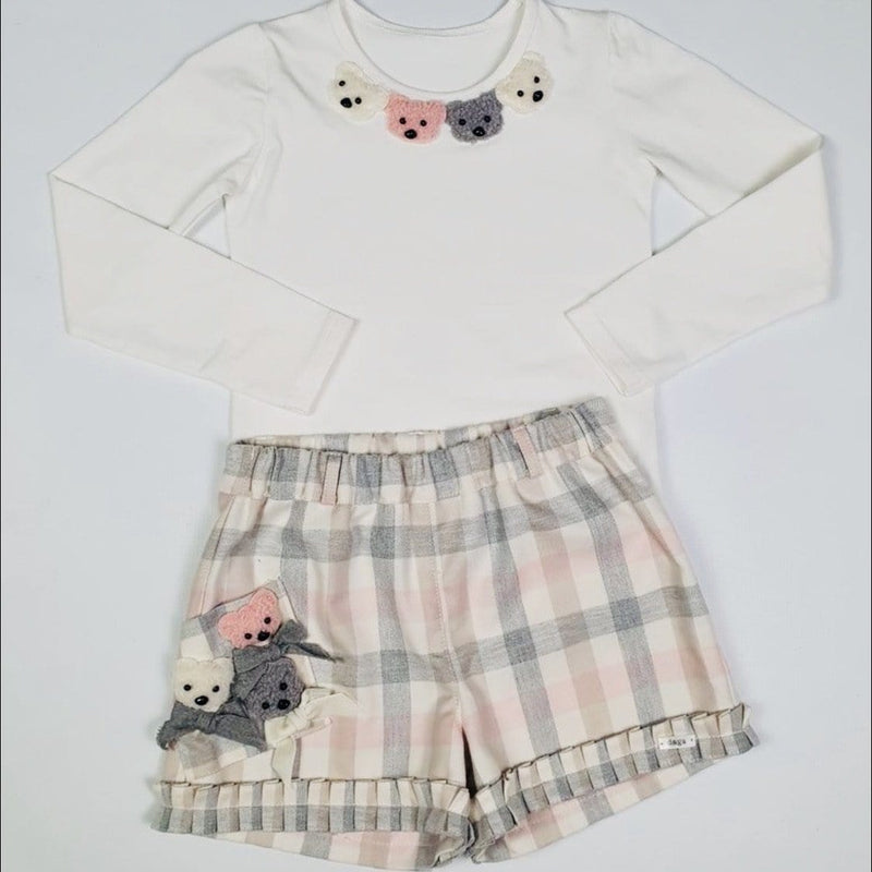 DAGA TEDDY BEAR SHORT SET