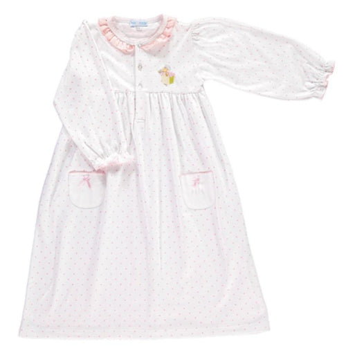MINI-LA-MODE MRS TIGGYWINKLE PINK SPOT NIGHTDRESS