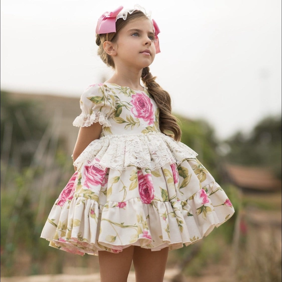 PRE ORDER EXCLUSIVE DANDELION MERICHE PUFFBALL DRESS