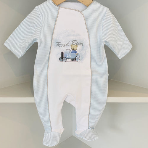 SOFIJA BOYS RACING CAR BABYGROW
