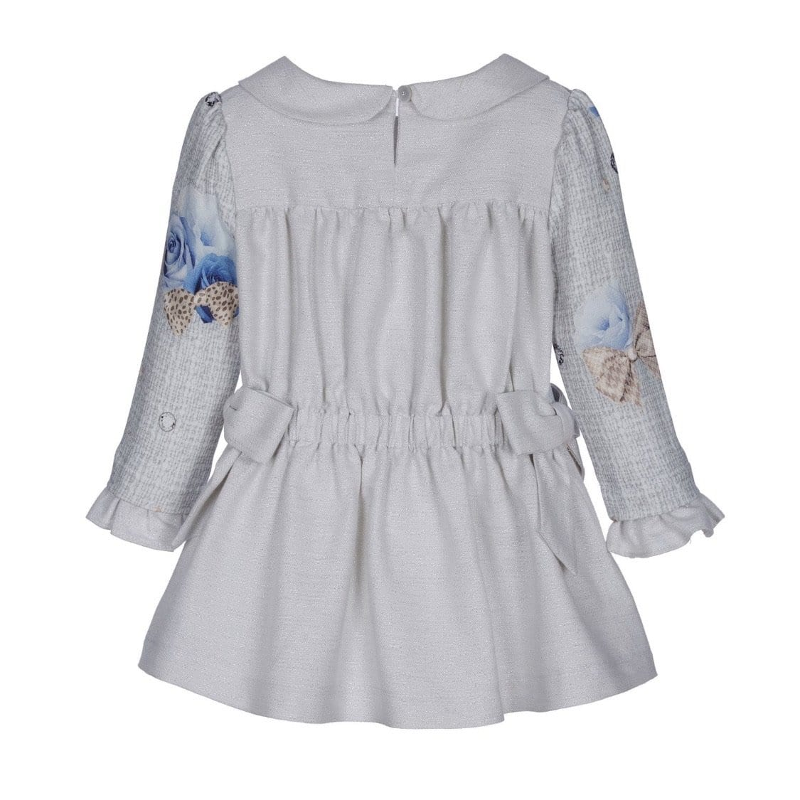 LAPIN HOUSE BLUE ROSE PETER PAN DRESS