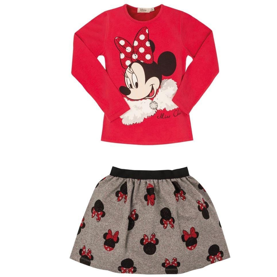 PRE ORDER EMC DISNEY MINNIE MOUSE SKIRT SET