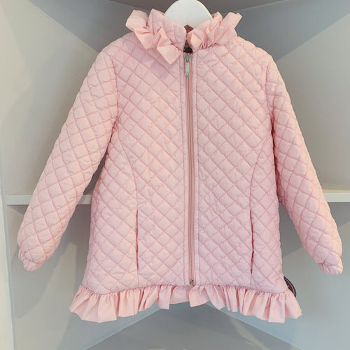 NINI SISTER BRAND LIGHTLY PADDED BABY PINK JACKET