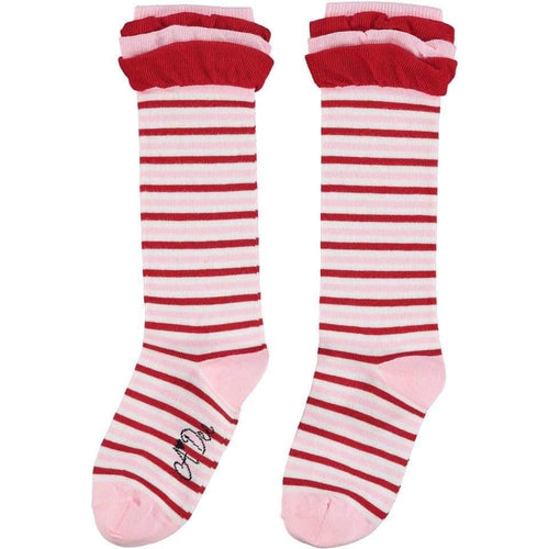 A DEE STRIPE KNEE HIGH SOCKS W202904 ELIZA