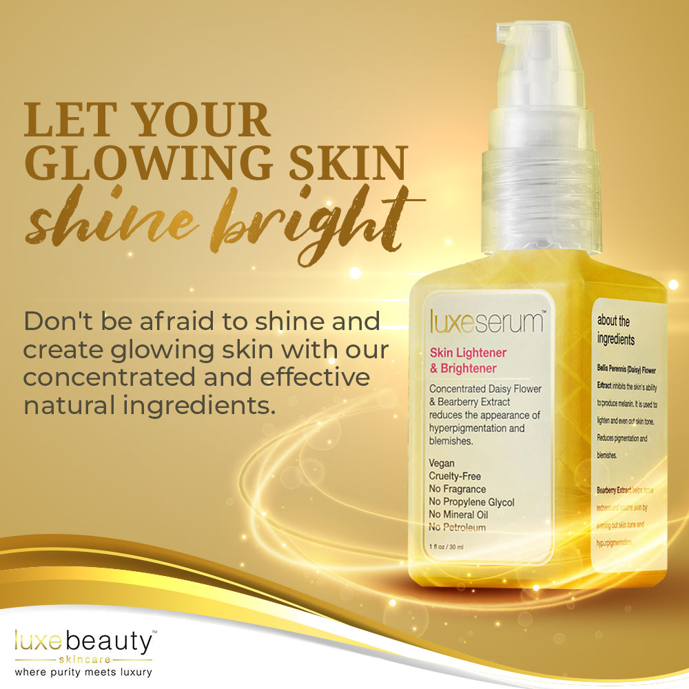 Skin Lightener and Brightener Serum