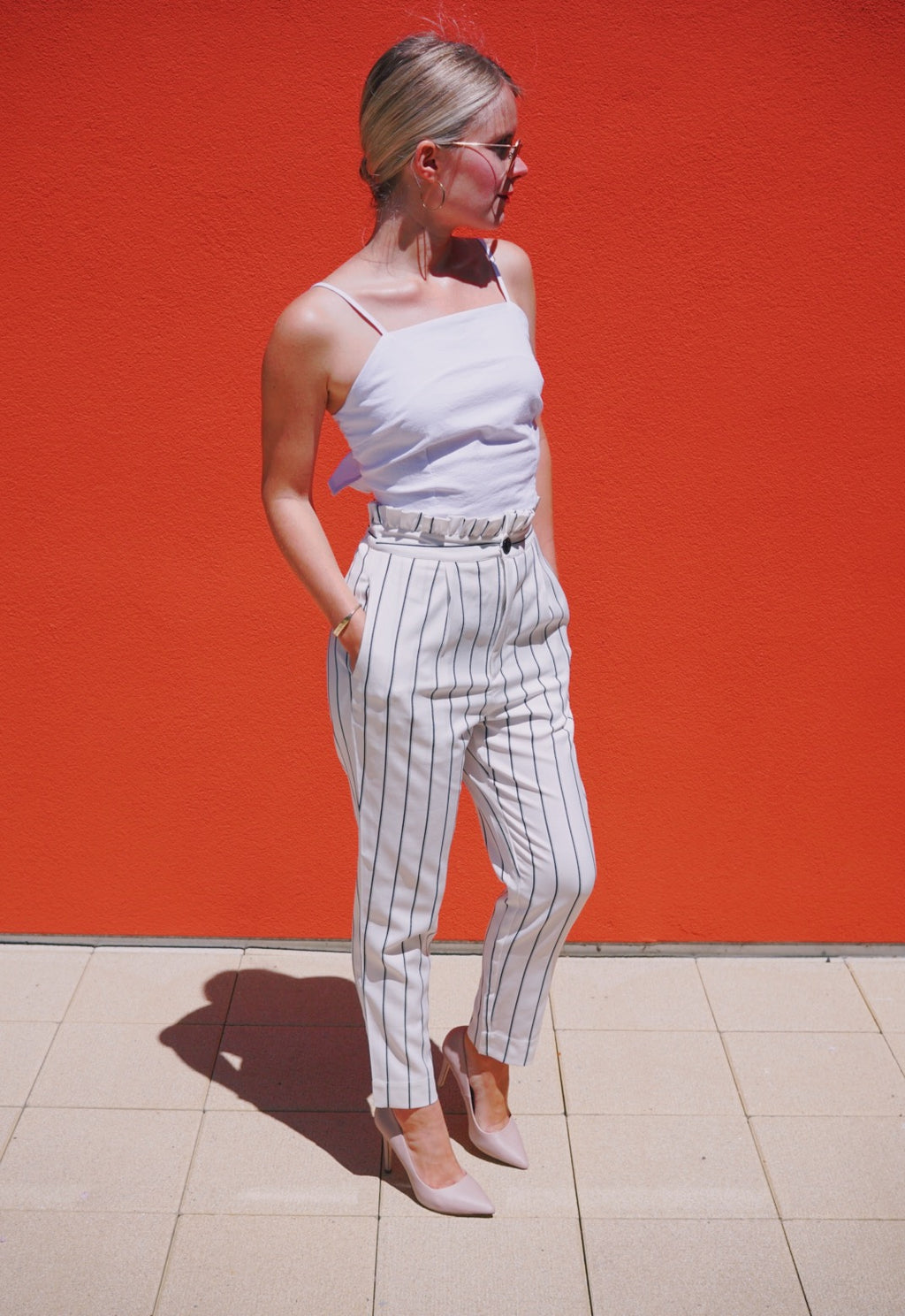 Boss-lady high waisted trousers