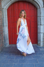 Precious memories flower maxi dress