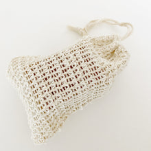 Agave Woven Soap Bag