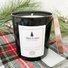 Tumbler Candle - Black Glass